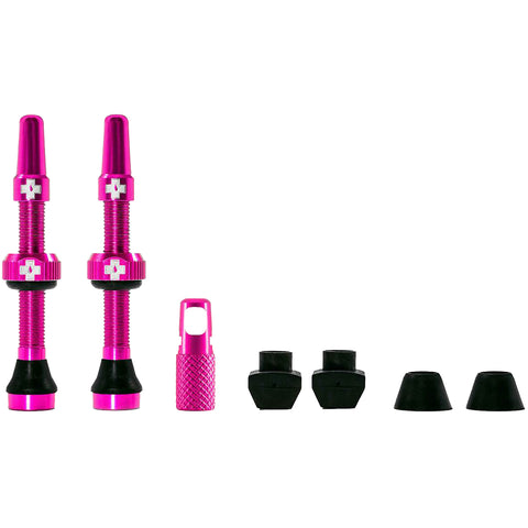 Muc-Off Tubeless Ventil-Set 44 mm - Pink