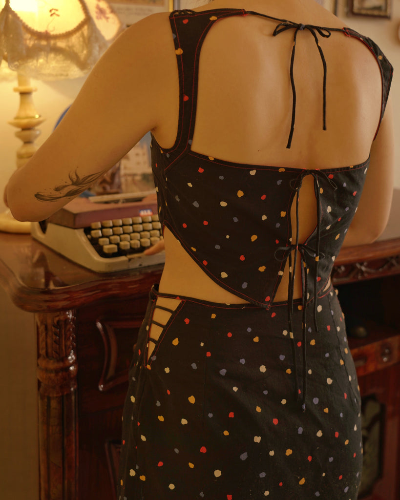 Mirlotte Open Back Top