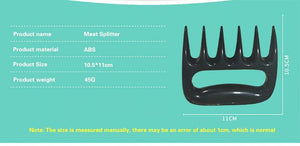 Fork Bear Claws Meat (2pcs)