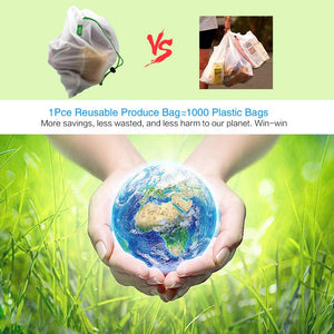 Zero-Waste Reusable Produce Bags