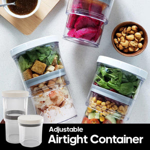 Adjustable Airtight Container