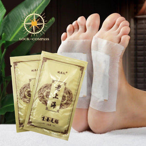 Detoxifying Ginger Foot Patches (10 PCS)