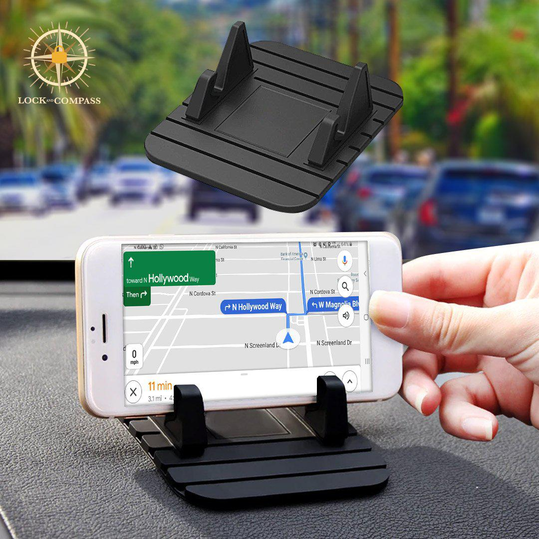 No-Slip Mat Phone Holder