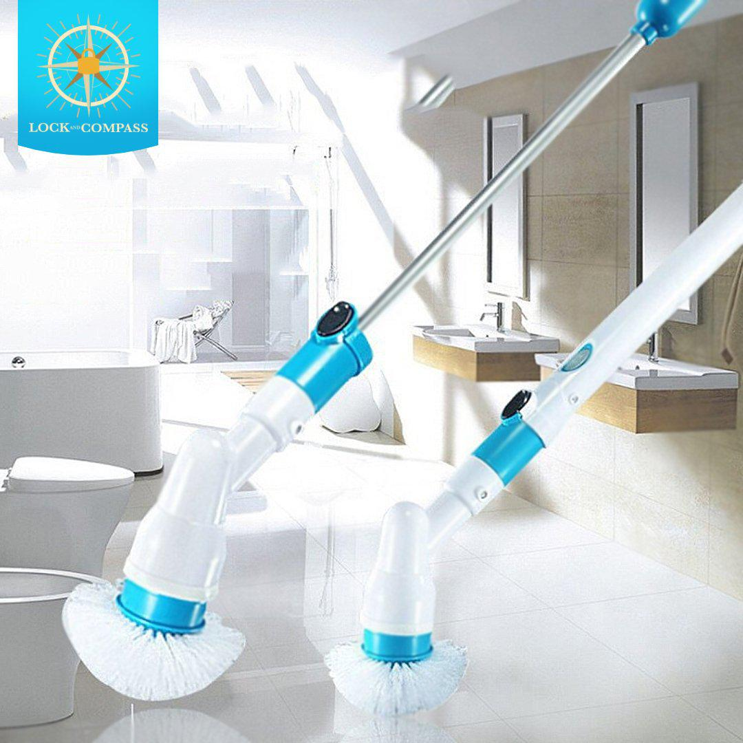 Turbo Spin Scrubber Set