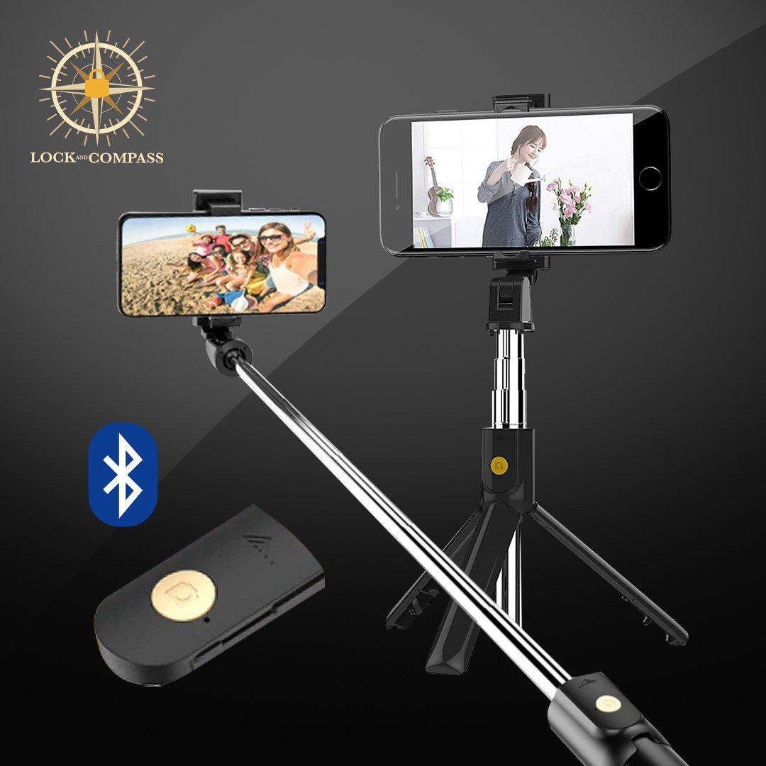 4-in-1 Wireless Bluetooth Selfie Stick