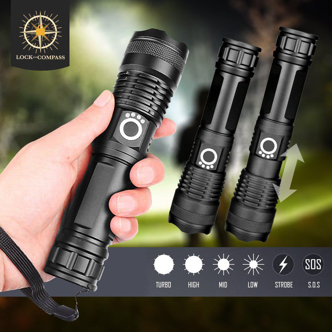 Bright Tactical Flashlight