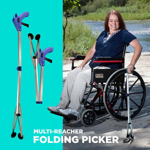 Multi-Reacher Folding Picker