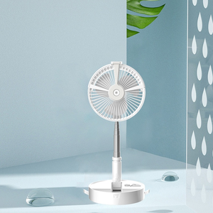 3-in-1 Electric Fan, Light and Spray