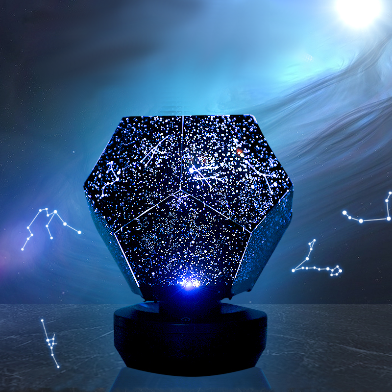Constellation Crystal Lamp