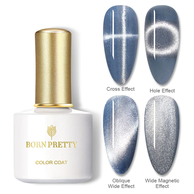 Magnetic Holographic Nail Polish