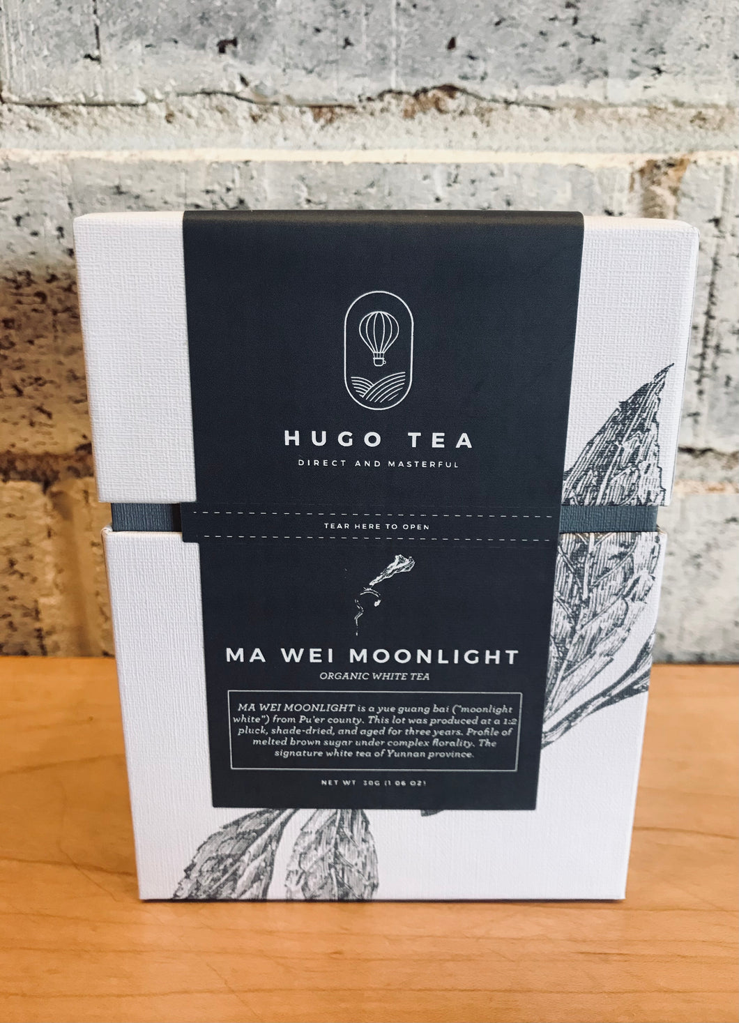 Ma Wei Moonlight Organic White Tea 100 g