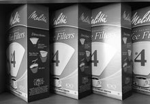 Load image into Gallery viewer, Melitta #4 White Coffee Filters