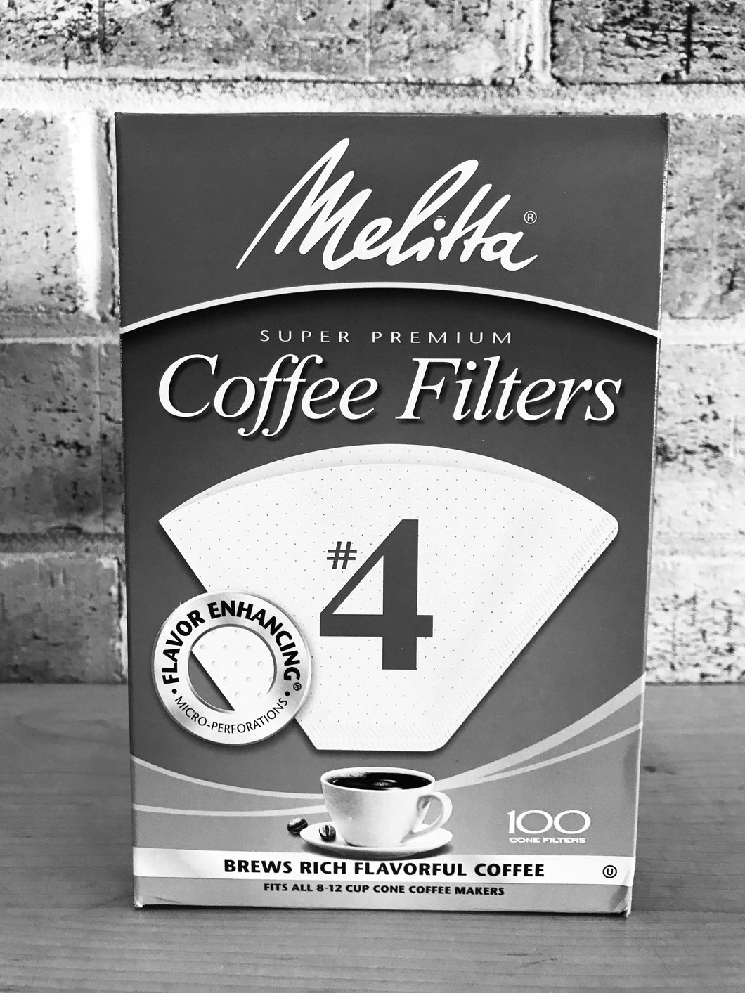 Melitta #4 White Coffee Filters