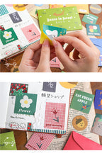 Load image into Gallery viewer, 40 Pcs Bear Biscuit Stickers
