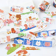Load image into Gallery viewer, Cute Adhesive Bear Washi Tapes
