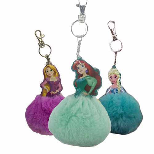 91748-LA -Disney Princess keychain (Available Now)