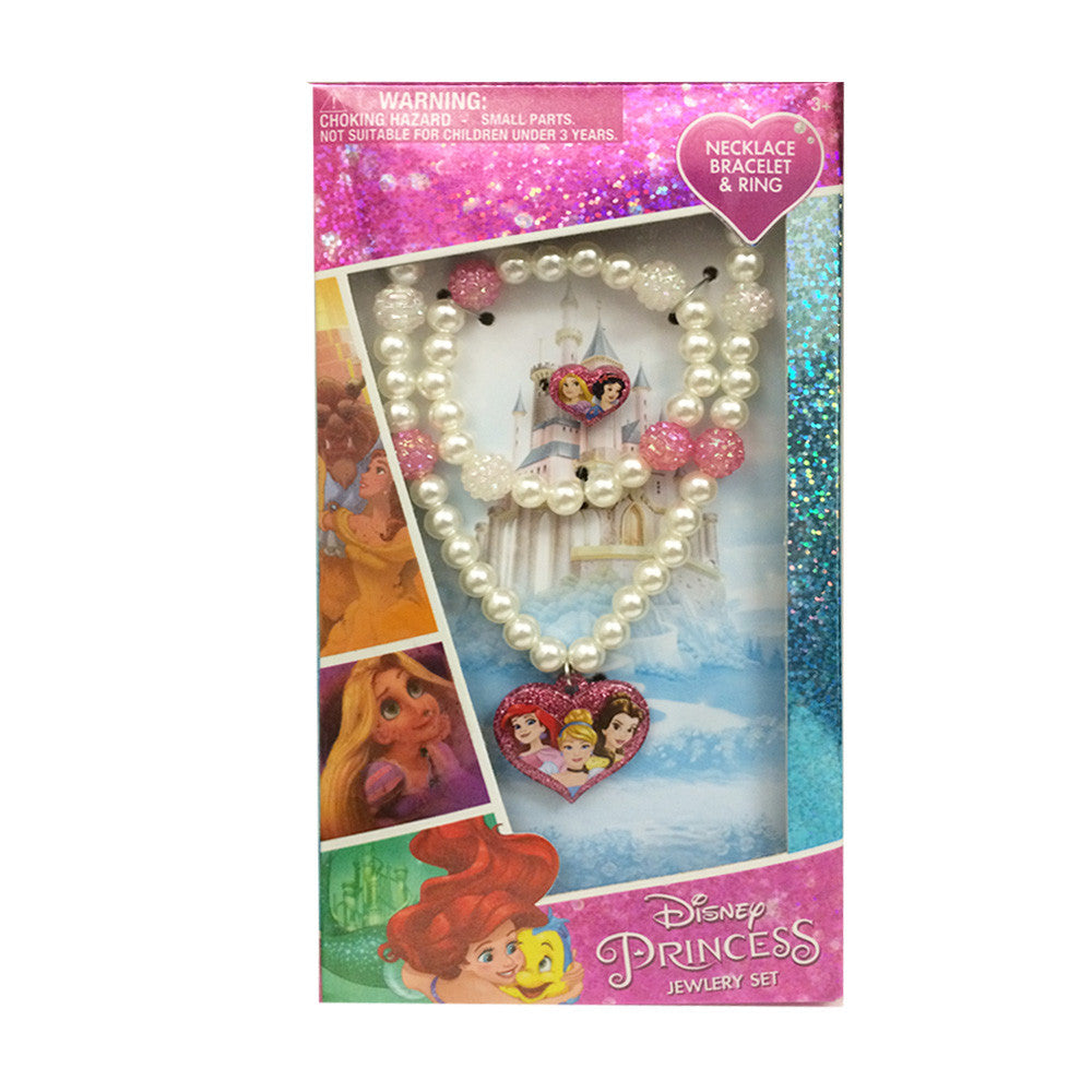 dy3188-NJ - Disney Princess jewelry accessory set  (Available Now) , Licensed - INV, Madly Deeply Co. - 1