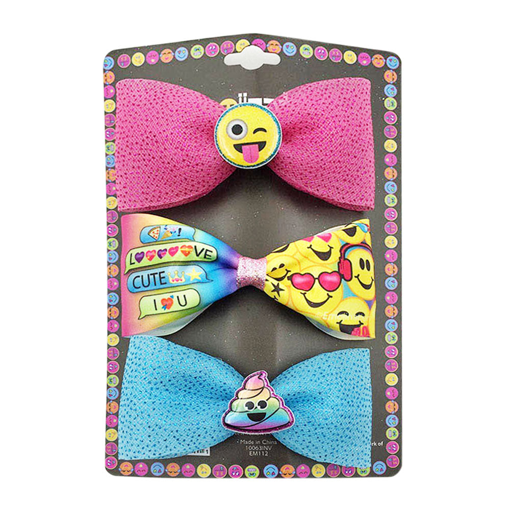 em112-NJ - Emojination 3 on a card bows(Available Now)