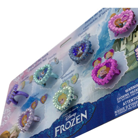 fz106-LA - Frozen 7 day ring/earring set (Available now) , Licensed - INV, Madly Deeply Co. - 1