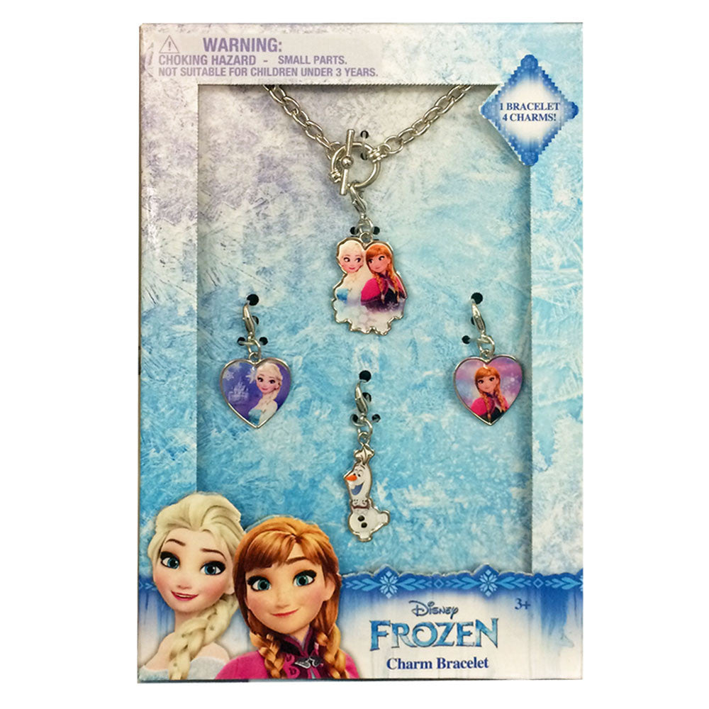 fz1097-NJ - Disney Frozen add a charm tiffany bracelet accessory set  (Available Now) , Licensed - INV, Madly Deeply Co. - 1
