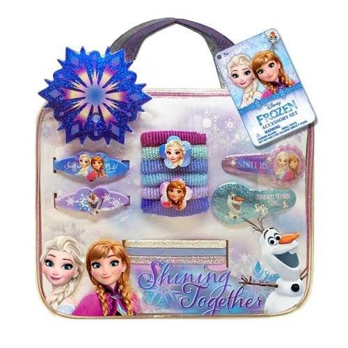 fz1289-NJ - DISNEY Frozen bag with assorted accessories (Available Now)