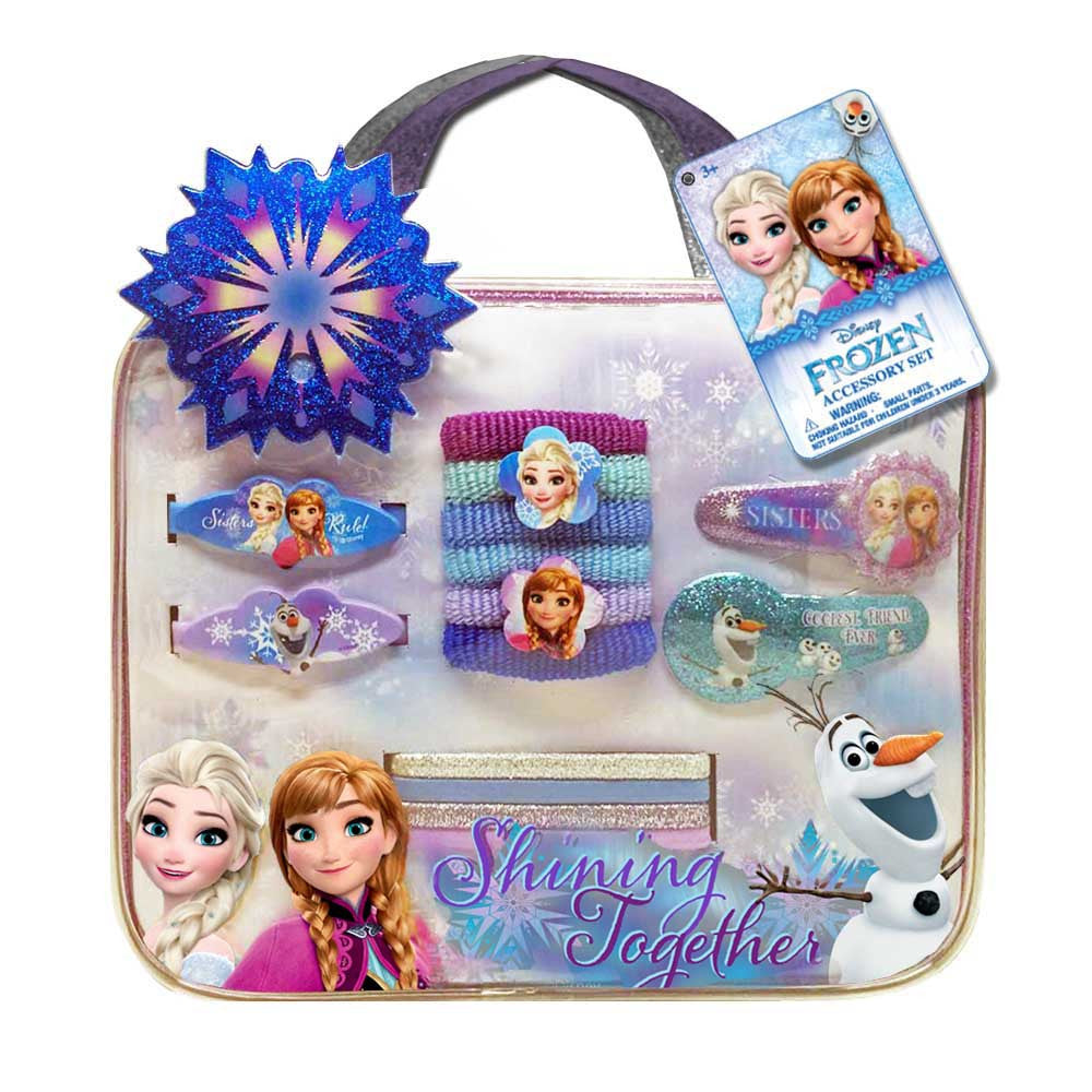fz1289-NJ - Disney Frozen bag with assorted accessories (August 2016 Availability - Now Accepting Pre-Orders) , Licensed - INV, Madly Deeply Co. - 1