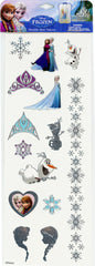 fz519-NJ - Frozen metallic hair tattoo jewelry (Available now) , Licensed - INV, Madly Deeply Co. - 2