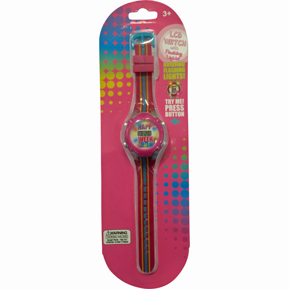 hw112-NJ - HER Happy Weekend LCD WATCH (Available Now)