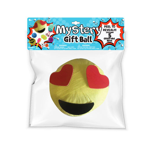 lh4651-LA - Luv Her EMoji Heart Smiley Mystery Gift Ball (Available Now)