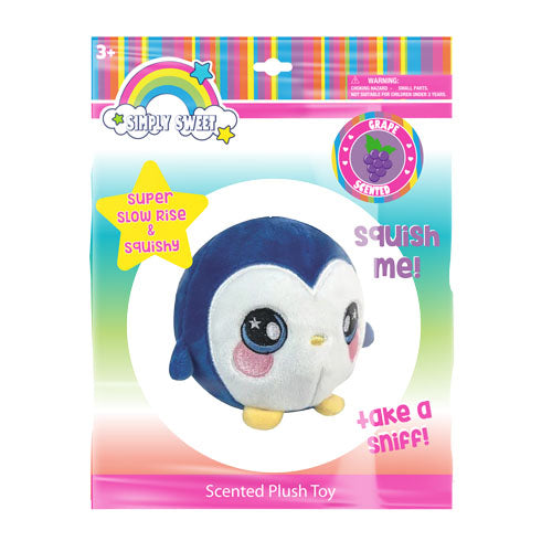 "lh4693-LA - Luv Her Scented Penguin Plush 4.5"" Toy (Available Now)"
