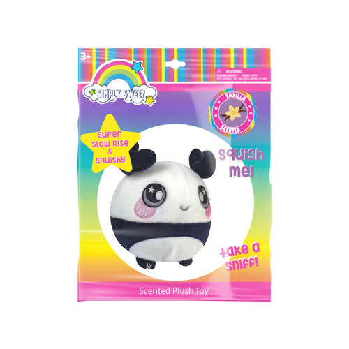 "lh4694-LA - Luv Her Scented Panda Plush 4.5"" Toy (Available Now)"