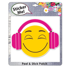 lh2675-NJ - Luv Her 1 on card large adhesive patch  (Available Now) , Licensed - INV, Madly Deeply Co. - 2