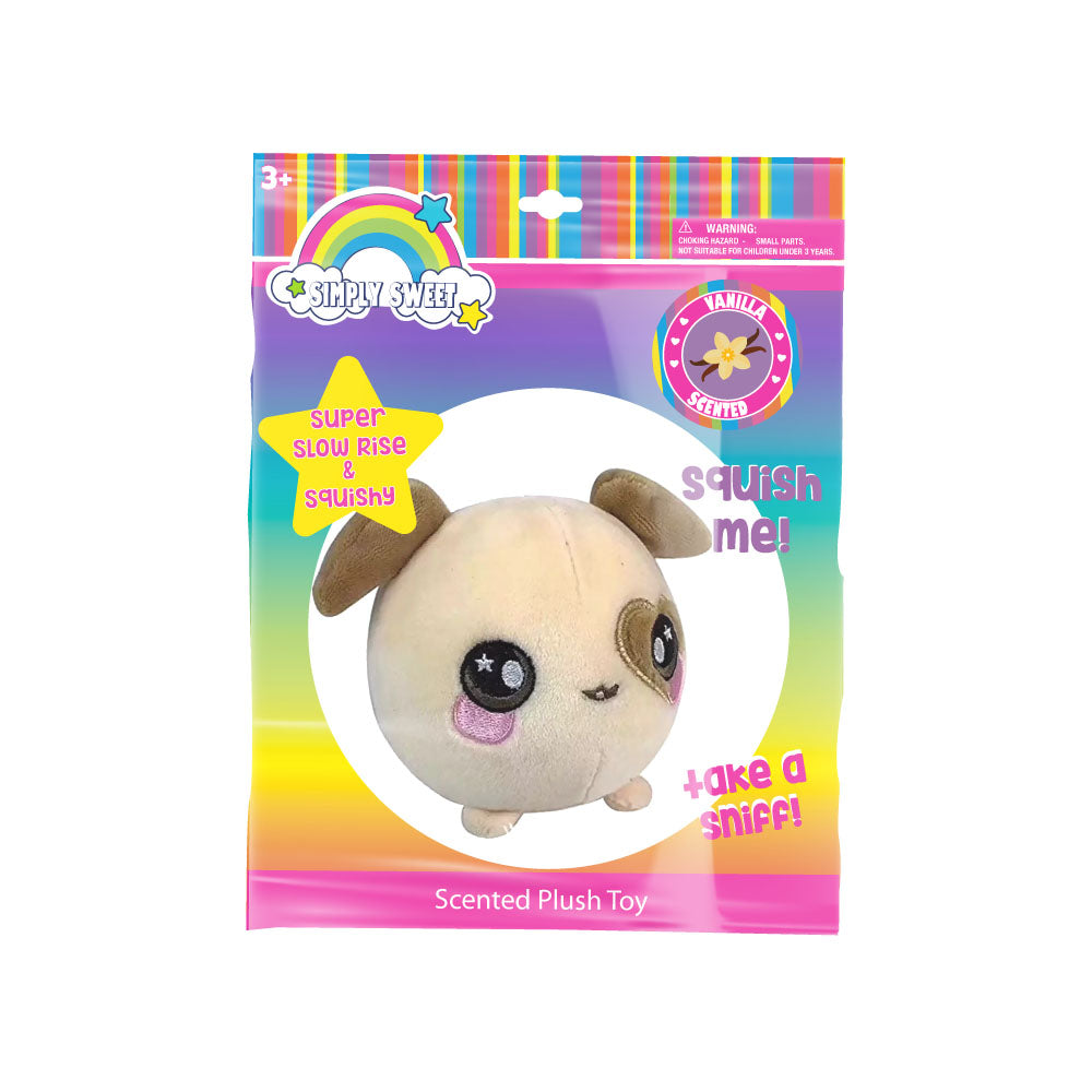 "lh4695-LA - Luv Her Scented Dog Plush 4.5"" Toy (Available Now)"