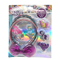 ml1220-NJ - My Little Pony 10pc mix and match headband /bow set (Available Now)