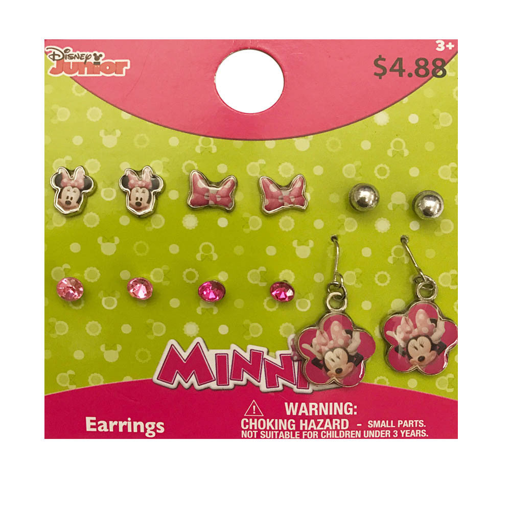 mm1584-LA - Minnie Mouse 6 pairs earrings (Available Now)