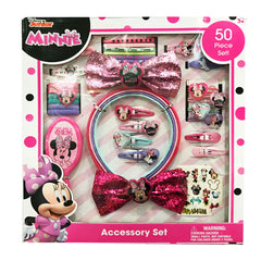 mm1823-LA -Minnie Mouse 50pc accessory set on a box (Available Now)