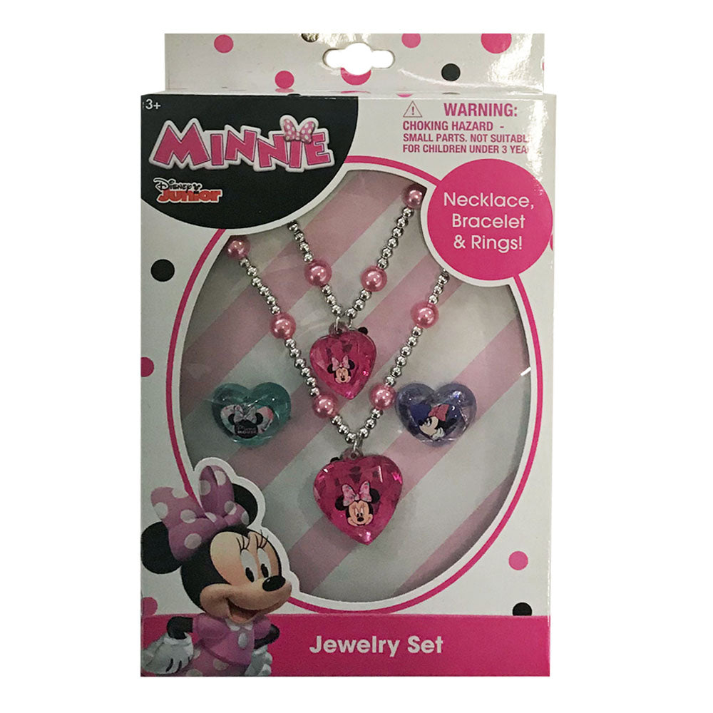 mm1830-LA - Minnie Mouse jewelry box set (Available Now)