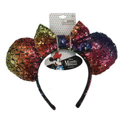 mm1872-LA - Minnie Mouse 1 on a card sequin headband (Available Now)