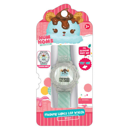 nnw065-NJ - Num Noms Scented Flashing Lights LED WATCH (Available Now)