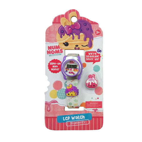 nnw081-NJ - Num Noms LCD WATCH with slide on charms (Available Now)