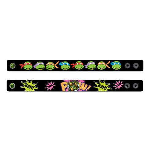 nt070-NJ - Ninja Turtles 2pcs rubber bracelet (Available Now)