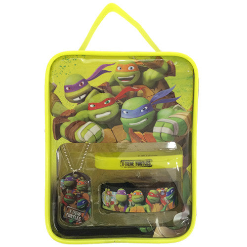 nt136-NJ - Ninja Turtles bag with assorted jewelry  (Available Now) , Licensed - INV, Madly Deeply Co.