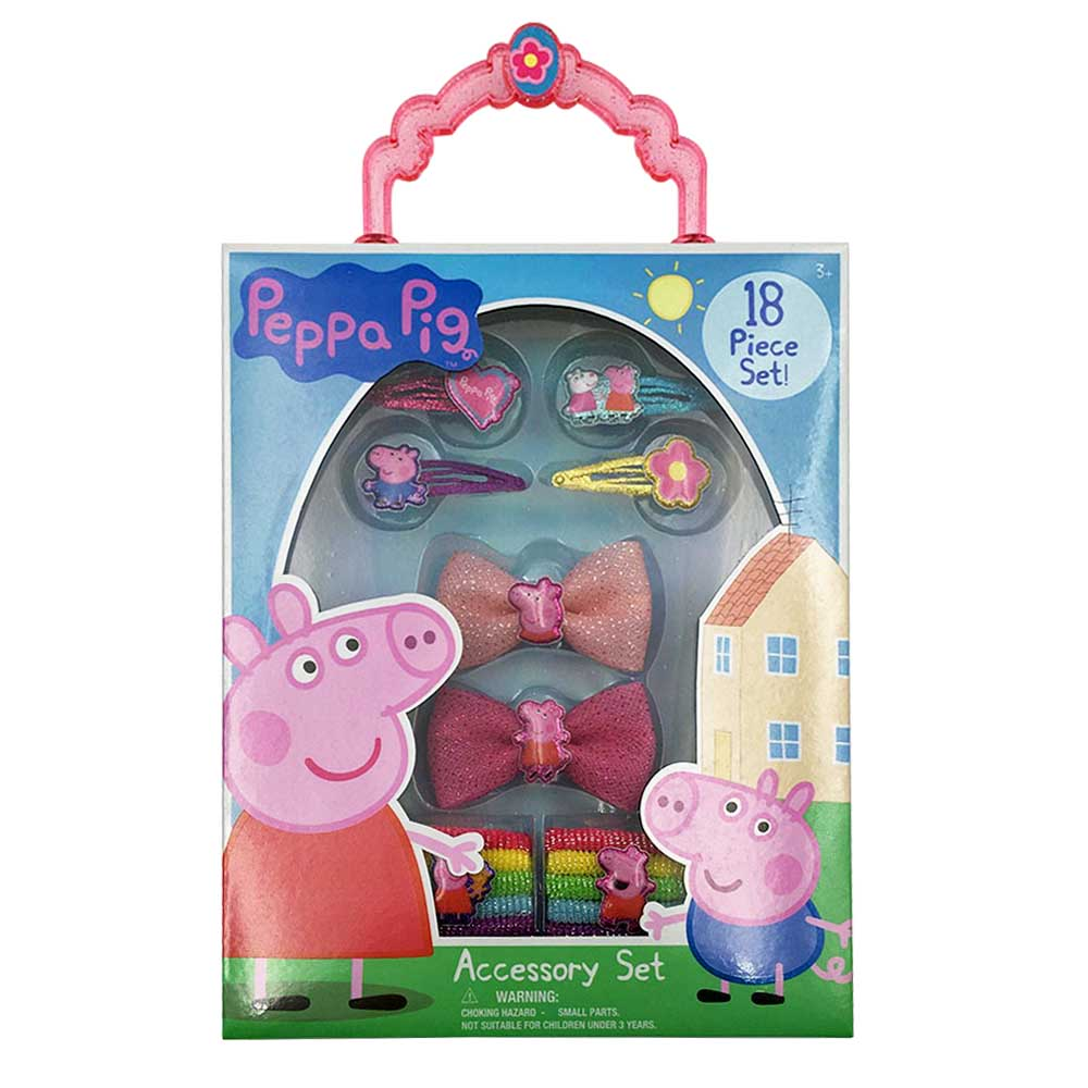 pg180-NJ - Peppa Pig Accessory box set (Available Now)