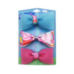 pg182-NJ - Peppa Pig bow set (Available Now)