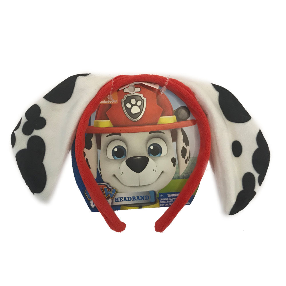 pw333-LA - Paw Patrol 1 on a card headband (November 2018 - Pre-order)