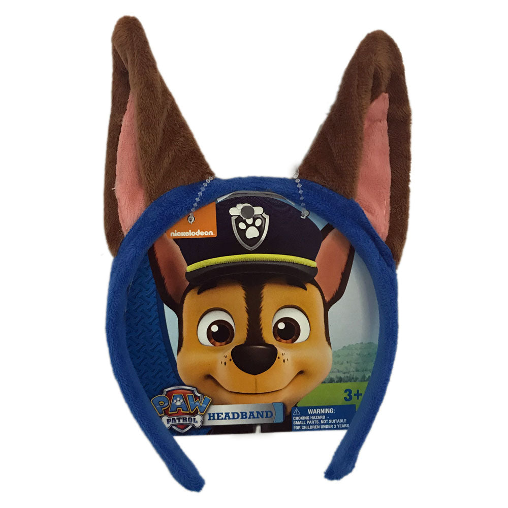 pw334-LA - Paw Patrol 1 on a card headband (November 2018 - Pre-order)
