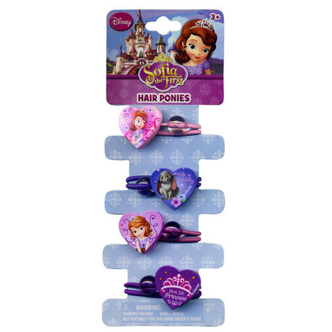 sa063-LA/NJ -  Sofia the First 4pc heart knockers (Available Now) , Licensed - INV, Madly Deeply Co. - 1