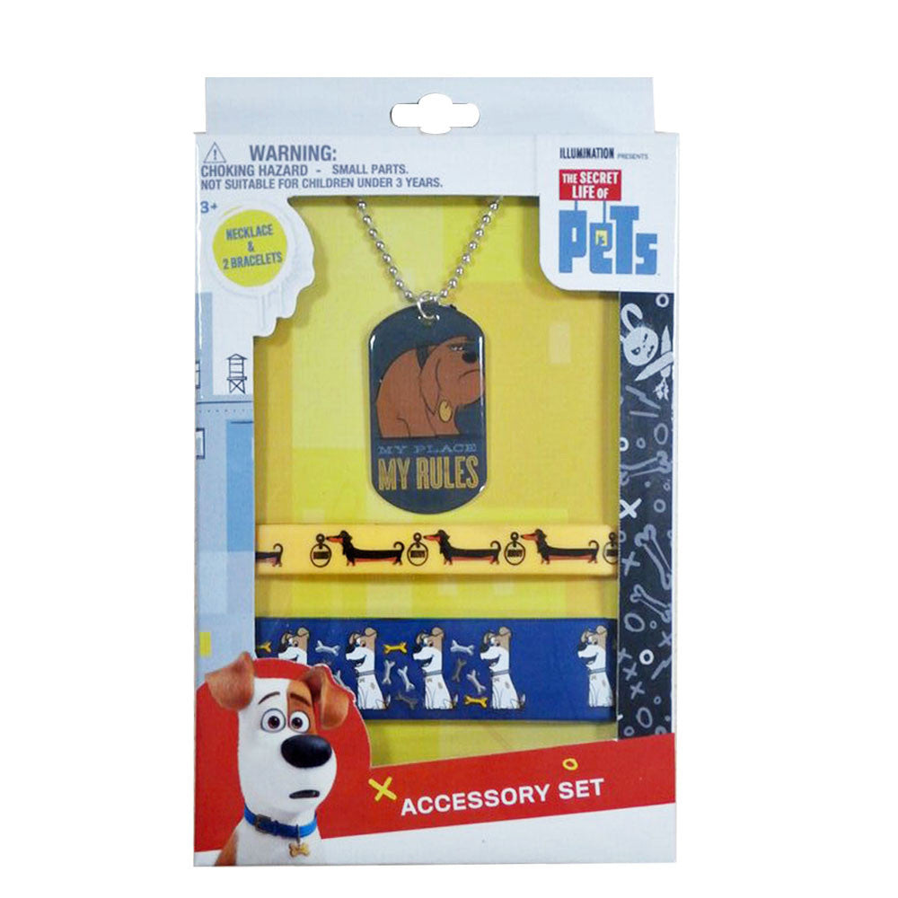 sl061-NJ - Secret Life of Pets accessory set (Available Now) , Licensed - INV, Madly Deeply Co. - 1