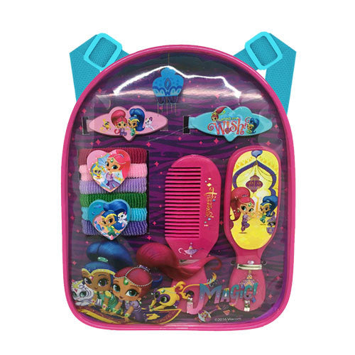 sn038-NJ - Shimmer and Shine backpack with assorted HAIR ACCESSORIES  (Available Now)