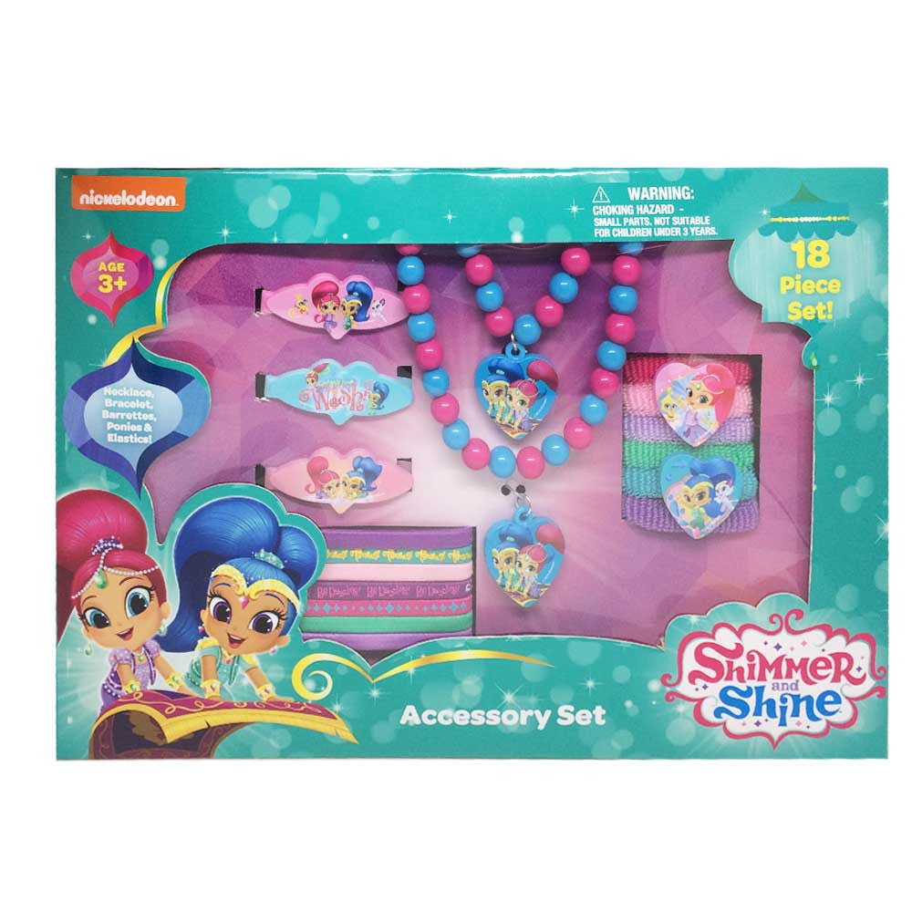 sn074-NJ - Shimmer and Shine accessory box set (August 2016 Availability - Now accepting Pre-order) , Licensed - INV, Madly Deeply Co. - 1